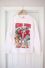 Vintage Jerzees Sweatshirt Alabama Crimson Tide Football 1993 Sz Large XL EUC