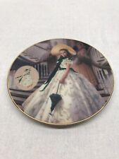 The Green Sprigged Dress Gone With The Wind Collectors Plate 1993