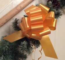 """20 """"GOLD """"PULL-UP"""" BOWS. CHRISTMAS, GIFTS, DECORATIONS, PARTY + CELEBRATIONS"""