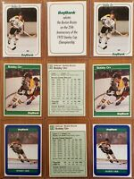 Bobby Orr Boston Bruins BAYBANK RARE ODDBALL White, Green, and Blue Version PICK