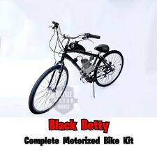 *Black Betty* Motorized 66cc Engine & Cruiser Bicycle - Motor Bike Kit -Diy