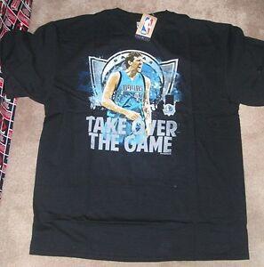 NEW NBA Dallas Mavericks Dirk Nowitzki Men XL X-Large Majestic NEW NWT