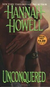 Unconquered by Howell, Hannah Paperback Book The Cheap Fast Free Post