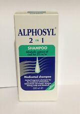 Alphosyl 2-in-1 Medicated Shampoo Psoriasis Seborrhoeic Dermatitis Scaling Itch