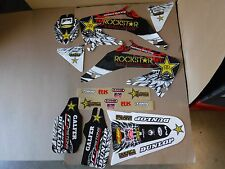 Rockstar team graphics Honda CRF450 CRF450R  2002 2003 2004  CRF  PTS