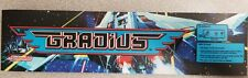 Vs. Gradius Arcade Marquee sticker. 2.5  x 10.5 (Buy 3 stickers, GET ONE FREE!)