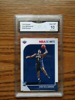 Zion Williamson Hoops RC #258 GMA Gem Mint 10 rookie