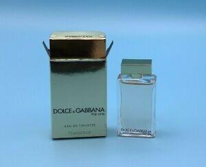 Dolce & Gabbana THE ONE Eau De Toilette MINIATURE PERFUME Mini 7.5 mL / 0.25 OZ