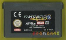 I FANTASTICI 4 Game Boy Advance Gba Versione Europea »»»»» SOLO CARTUCCIA