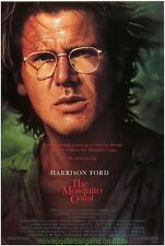 MOSQUITO COAST MOVIE POSTER Original SS 27x40 HARRISON FORD HELEN MIRREN 1986