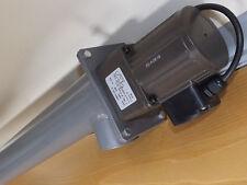 1 Mètre Long Wood Pellet Feeder Auger, diamètre 75 mm-électrique IP40 220 V, 25 W