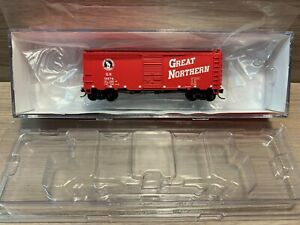 N Scale Intermountain Rail Great Northern 19276 12 Panel Box Car G.N. 66002-36""