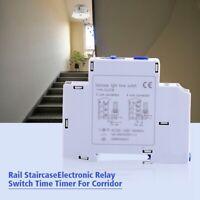 Mecánico Interruptor de Temporizador Electrónico Luz Corredor Escalera Kit