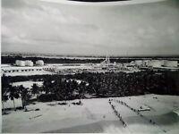 Exploration pétroliere TOTAL années 50-60 photo grand format Raffinerie Abidjan