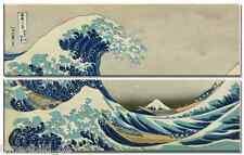 TIME4BILD HOKUSAI Die große Welle vor Kanagawa Japan 2 BILDER 180x55cm LEINWAND