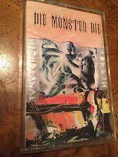 """Die Monster Die """"Withdrawal Method"""" Tape 1994 Biohazard Type O Negative"""