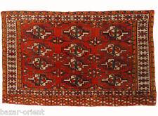 95x57 cm antik Afghan Nomaden Turkmen Torba Front Orientteppich bagface