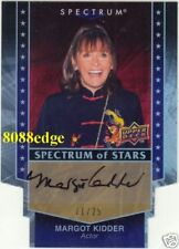 2008 SPECTRUM OF STARS AUTOGRAPH AUTO: MARGOT KIDDER #11/25