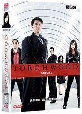 13394 //TORCHWOOD SAISON 2 COFFRET 4 DVD NEUF SOUS BLISTER