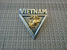 ONCE A MARINE ALWAYS A MARINE U.S.A. 1 VIETNAM MARINE CORP PEWTER PIN All New.