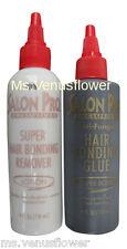 Salon Pro Hair Extension Black 4 oz Glue & Remover Kit