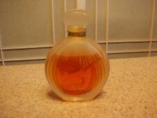 VTG Ricci NINA PARFUM Perfume Collectible .5oz Frosted Glass Presentation France