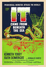 1950's Sci-Fi  * IT Came from Beneath The Sea  *  Alternate  Movie Poster 1955