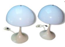 2 lampes design PANTHELLA de VERNER PANTON par LOUIS POULSEN ANNÉES 1970
