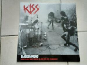 KISS Black diamond LP live Lafayette music room Memphis 74 LP