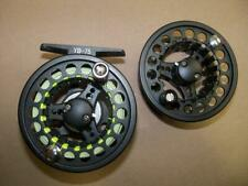 Chi Tian Yb-75 fly fishing reel & spare spool with 4wt line tippet & leader Used
