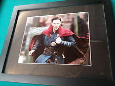 Benedict Cumberbatch Signed 8x10 Photo Framed with COA DR. Strange Marvel