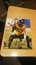 Tyler Orlosky West Virginia signed 8x10 Photo NFL