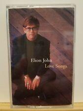 Pre-owned ~ Love Songs by Elton John (Cassette, Sep-1996, MCA)