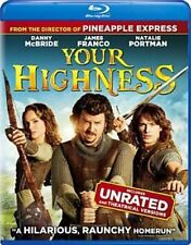 Your Highness 0025192044243 With Natalie Portman Blu-ray Region a