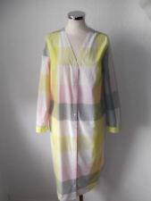 Stylisches COS Hemdblusen-Kleid, 38-40, Karo-Design, Pastell-Töne, 2x getr. TOP
