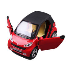 1:24 Benz Smart ForTwo Car Model Diecast Toy Vehicle Red Gift Collection Kids