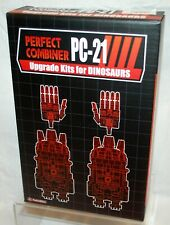 Transformers Perfect Effect Combiner PC-21 Upgrade Kit Dinobots Volcanicus NEW!
