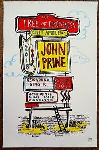 JOHN PRINE Album POSTER Tree Of Forgiveness 11x17