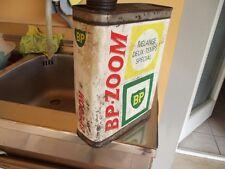 Lattina olio BP ZOOM oil can bidon x Vespa Lambretta Moto Morini Becane Garelli