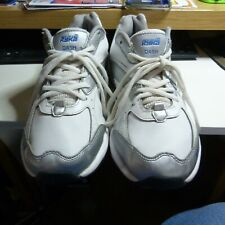 Women's Ryka Dash 2  Walking Shoe White/Grey/Blue
