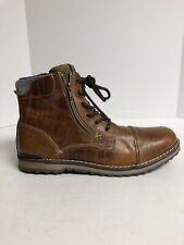 Aldo Schatzman Boot Cognac Bronze Brown 13 M