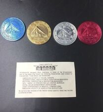 Set  of Vintage Rivergate Convention Center New Orleans Doubloons