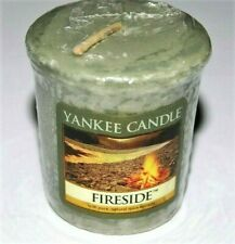 """Lot of 6 Yankee Candle Retired """"FIRESIDE""""~ Sampler Votives ~ RARE ~ NEW"""