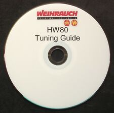 WEIHRAUCH HW80 TUNING GUIDE,PRINTED DVD + FREE TARGETS
