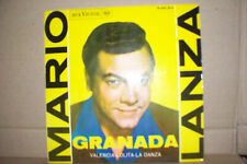 MARIO LANZA,  GRANADA,  RCA RECORDS SPAIN 1962