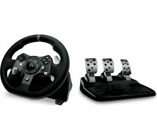 LOGITECH Driving Force G920 Xbox & PC Racing Wheel & Pedals - Black - Currys