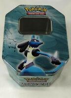 Pokemon Tin Carrying Case Boite de rangement Metal Lucario Diamond & Pearl