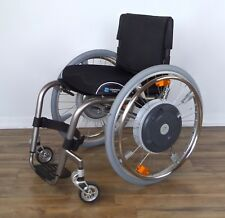 TiLite ZRA, E-Motion M15 power-assist titanium wheelchair, Frog Legs - #0084