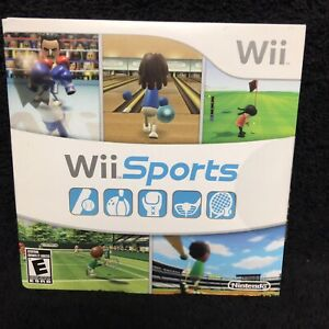 Wii Sports Nintendo Wii 2006 Brand New Factory Sealed FAST SHIP SAME DAY