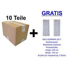 10 Teile IKEA Restposten + GRATIS IKEA SOMMAR 2017 Gardinenpaar